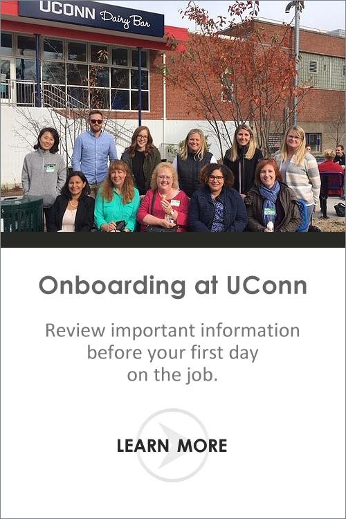 Onboarding at UConn