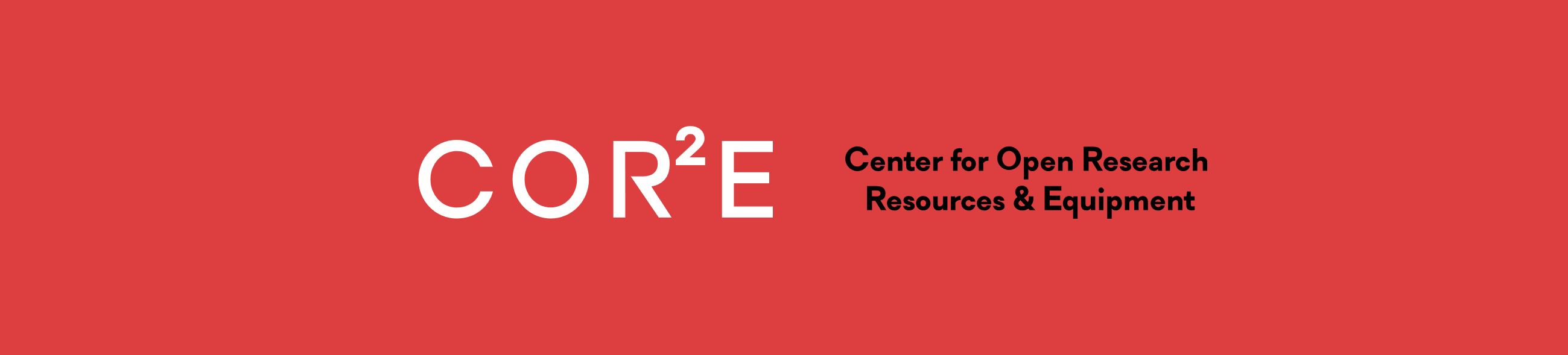 Center for Open Research Resources & Equipment