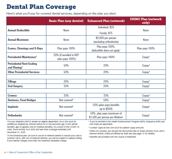 Overview of Dental Plans
